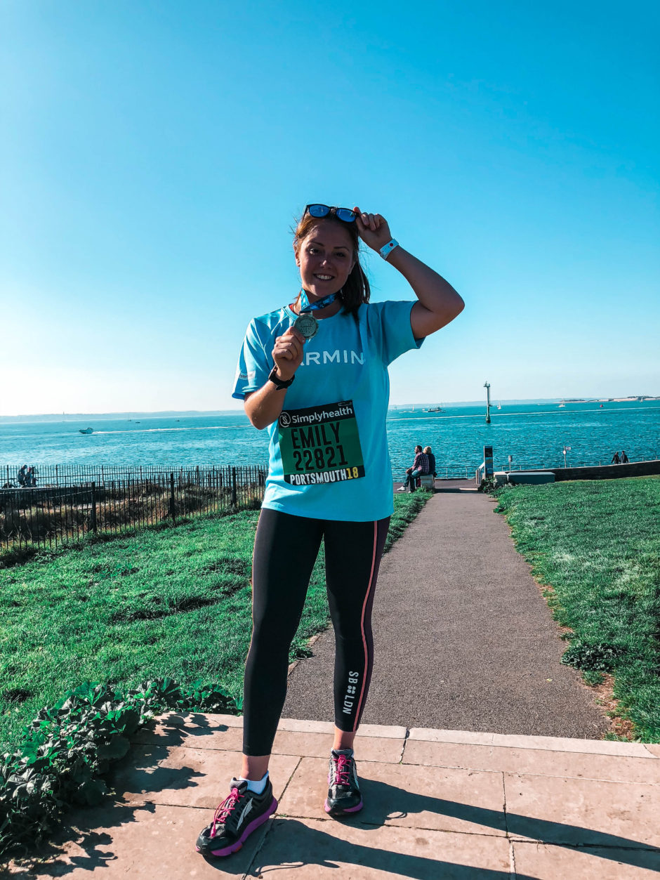 44a1ecba16616 A race without racing… the Great South Run with Garmin - Emily Young ...